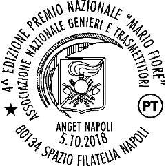 Risultati immagini per ANNULLO FILATELICO ASSOCIAZIONE NAZIONALE GENIERI E TRASMETTITORI