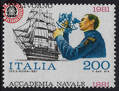 Accademia navale in basso
